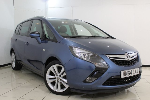 View our 2014 64 VAUXHALL ZAFIRA TOURER 1.4 SRI 5DR 138 BHP