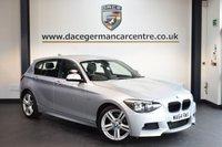 USED 2015 64 BMW 1 SERIES 2.0 118D M SPORT 5d 141 BHP + FULL BMW SERVICE HISTORY + BLUETOOTH + SPORT SEATS + RAIN SENSORS + DAB RADIO + 18 INCH ALLOY WHEELS +