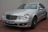 2009 MERCEDES-BENZ E CLASS 2.1 E220 CDI EXECUTIVE SE 4d AUTO 170 BHP £5995.00