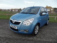 2014 VAUXHALL AGILA 1.2 SE 5d AUTO 93 BHP, 1 OWNER FSH, BLUE £6795.00