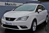 2015 SEAT IBIZA 1.4 TOCA 3d 85 BHP £SOLD