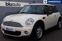 2012 MINI HATCH ONE 1.6 3d 98 BHP £7420.00