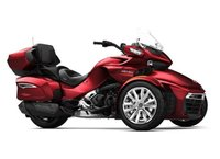 USED 2018 CAN-AM SPYDER CAN AM SPYDER F3 LIMITED RED CHROME EDITION