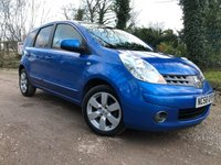 2009 NISSAN NOTE 1.6 TEKNA 5d 109 BHP 1 PREVIOUS OWNER,FSH,NEW BRAKES,SUSPENSION,SERVICED £SOLD