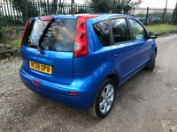 USED 2009 58 NISSAN NOTE 1.6 TEKNA 5d 109 BHP 1 PREVIOUS OWNER