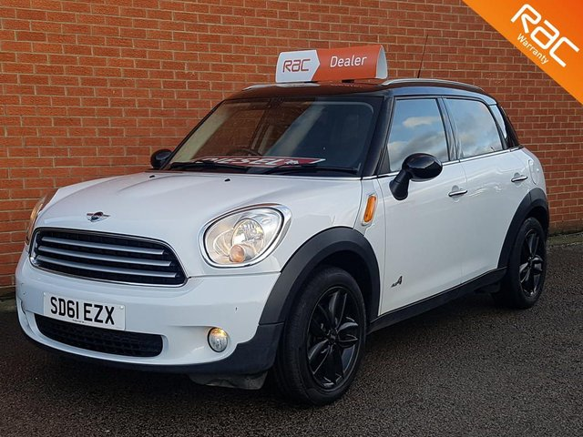2011 61 MINI COUNTRYMAN 1.6 COOPER D ALL4 5d --  FULL BLACK LEATHER