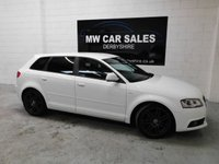 2010 AUDI A3 1.8 SPORTBACK TFSI S LINE SPECIAL EDITION 5d 153 BHP £9981.00