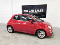 2010 FIAT 500 1.2 LOUNGE 3d 69 BHP £4491.00