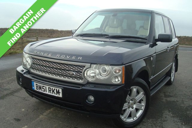 2007 07 LAND ROVER RANGE ROVER 3.6 TDV8 VOGUE 5d AUTO 272 BHP FIND ANOTHER 2007 AT £6495