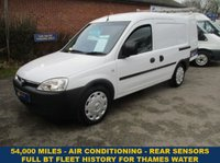2010 VAUXHALL COMBO 2000 1.3 CDTi With Air-Con From Thames Water £3695.00