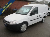 2011 VAUXHALL COMBO 2000 1.3 CDTi Direct From BT With History £3695.00