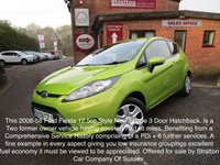 2008 FORD FIESTA 1.2 STYLE 3d 81 BHP £3500.00