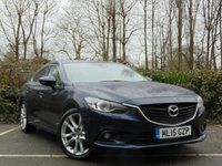USED 2015 15 MAZDA 6 2.2 D SPORT NAV 4d 173 BHP FULL AA 128 POINT INSPECTION AND FULL SERVICE HISTORY