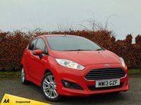USED 2013 13 FORD FIESTA 1.2 ZETEC 5d  * FULL SERVICE HISTORY * LOW MILEAGE * ONLY 17,717 MILES *