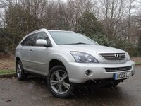 USED 2008 08 LEXUS RX 3.3 400H SR 5d AUTO 208 BHP 10 LEXUS SERVICE STAMPS, FULL HEATED LEATHER INTERIOR