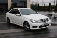 USED 2013 62 MERCEDES-BENZ C CLASS C250 CDI BLUEEFFICIENCY AMG SPORT PLUS 2.1 4d AUTO  2 OWNERS - ONLY 69K - FMBSH