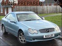 2002 MERCEDES-BENZ CLK 3.2 CLK320 ELEGANCE 2d 218 BHP £2495.00