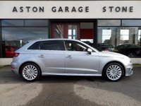 USED 2015 15 AUDI A3 1.4 SPORTBACK E-TRON 5d AUTO 101 BHP ** NAV * 1/2 LEATHER ** ** SAT NAV * 1/2 LEATHER * FASH **