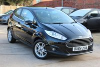 USED 2014 64 FORD FIESTA 1.0 ZETEC 3d 99 BHP **** ZERO ROAD TAX * ONE PREVIOUS OWNER ****