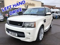 2011 LAND ROVER RANGE ROVER SPORT 3.0 TDV6 HSE 5d AUTO 245 BHP LEFT HAND DRIVE £24995.00