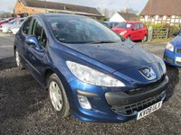 USED 2008 08 PEUGEOT 308 1.6 S 5DR FSH FULL SERVICE HISTORY