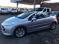 USED 2008 58 PEUGEOT 207 1.6 CC GT SPORT 2d 108 BHP FULL LEATHER INTERIOR