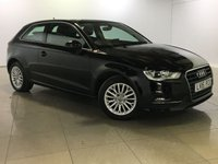 USED 2015 15 AUDI A3 1.6 TDI SE TECHNIK 3d AUTO 109 BHP 1 Owner/Sat Nav/Bluetooth