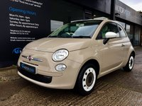 2013 FIAT 500 1.2 C POP 3d 69 BHP £SOLD