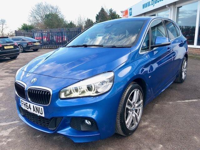 2015 64 BMW 2 SERIES 1.5 216D M SPORT ACTIVE TOURER 5d 114 BHP