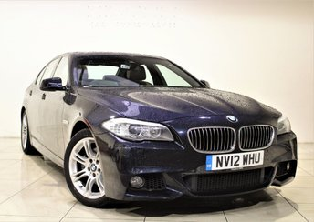 2012 BMW 5 SERIES 2.0 520D M SPORT 4d AUTO 181 BHP £14485.00