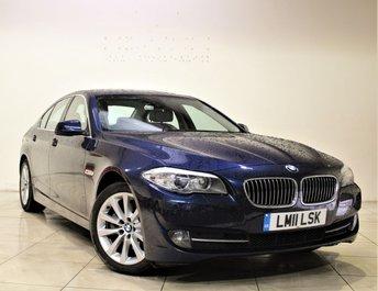 2011 BMW 5 SERIES 2.0 520D SE 4d AUTO 181 BHP £12485.00