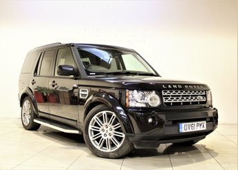 2011 LAND ROVER DISCOVERY 3.0 4 SDV6 HSE 5d AUTO 255 BHP £17485.00