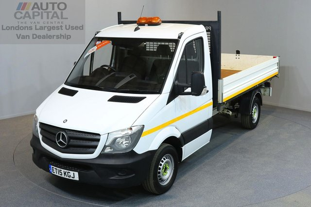 2015 15 MERCEDES-BENZ SPRINTER 2.1 313 CDI C/C MWB 2d 129 BHP CRUISE CONTROL REVERSE CAMERA TIPPER ONE OWNER FROM NEW