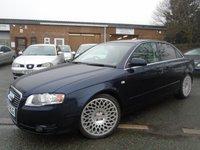 2007 AUDI A4 2.0 TDI SE TDV 4d 140 BHP £3995.00