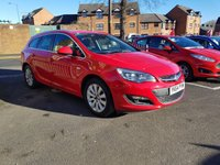 USED 2014 64 VAUXHALL ASTRA 2.0 ELITE CDTI 5d AUTO 163 BHP THE BEST SPECIFICATION WITH PARKING SENSORS, CLIMATE CONTROL, LEATHER TRIM, AND 17INCH ALLOY WHEELS!!..EXCELLENT FUEL ECONOMY!!..LOW CO2 EMISSIONS(148G/KM)..LOW ROAD TAX...FULL HISTORY...ONLY 17372 MILES FROM NEW!!
