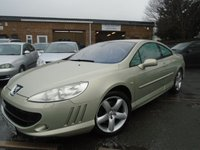2006 PEUGEOT 407 2.7 COUPE GT HDI 2d AUTO 202 BHP £1895.00
