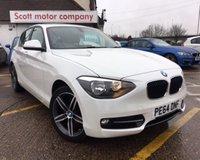 2014 BMW 1 SERIES 1.6 114D SPORT 5d 94 BHP £10000.00