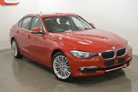 USED 2012 12 BMW 3 SERIES 2.0 318D LUXURY 4d 141 BHP FULL BLACK LEATHER + LOW MILES + SERVICE HISTORY