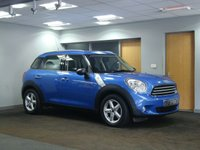 USED 2010 MINI COUNTRYMAN 1.6 ONE 5d 98 BHP +++++ SPECIAL ORDER COLOUR +++++++