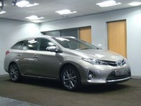 USED 2014 64 TOYOTA AURIS 1.8 VVT-I EXCEL 5d AUTO 98 BHP+++++DEPOSIT RECEIVED++++++