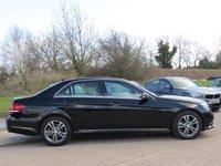 USED 2015 15 MERCEDES-BENZ E CLASS 2.1 E220 BLUETEC SE 4d AUTO 174 BHP VAT QUALIFYING, AUTOMATIC, FULL BLACK LEATHER INTERIOR, SAT NAV, EURO 6
