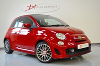 USED 2015 15 ABARTH 500C 1.4 C CUSTOM 3d 133 BHP CONVERTIBLE 1 LADY OWNER