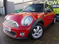 USED 2011 11 MINI CONVERTIBLE 1.6 ONE 2d 98 BHP Excellent Condition, Winter Pack with Heated Seats,, Heated Screens and Air Con, No Fee Finance Available