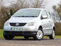USED 2008 08 VOLKSWAGEN FOX 1.2 6V 3d 54 BHP NEW MOT ON PURCHASE, SERVICE HISTORY, FINANCE AVAILABLE