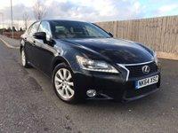 2014 LEXUS GS 2.5 300H SE 4d AUTO 220 BHP £15885.00