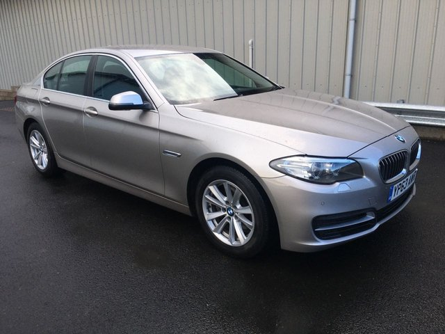 2013 63 BMW 5 SERIES 2.0 181 BHP 520D SE SALOON