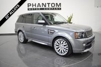 2012 LAND ROVER RANGE ROVER SPORT 3.0 SDV6 AUTOBIOGRAPHY SPORT 5d AUTO 255 BHP £25990.00