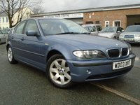USED 2003 03 BMW 3 SERIES 2.5 325I SE 4d AUTO 190 BHP ONLY 1 FORMER KEEPER+GREAT VALUE
