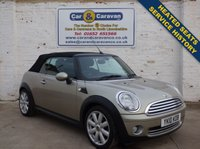 USED 2010 10 MINI CONVERTIBLE 1.6 COOPER 2d 122 BHP Service History Heated Seats 0% Deposit Finance Available