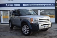 USED 2007 07 LAND ROVER DISCOVERY 2.7 3 TDV6 XS 5d AUTO 188 BHP THE CAR FINANCE SPECIALIST
